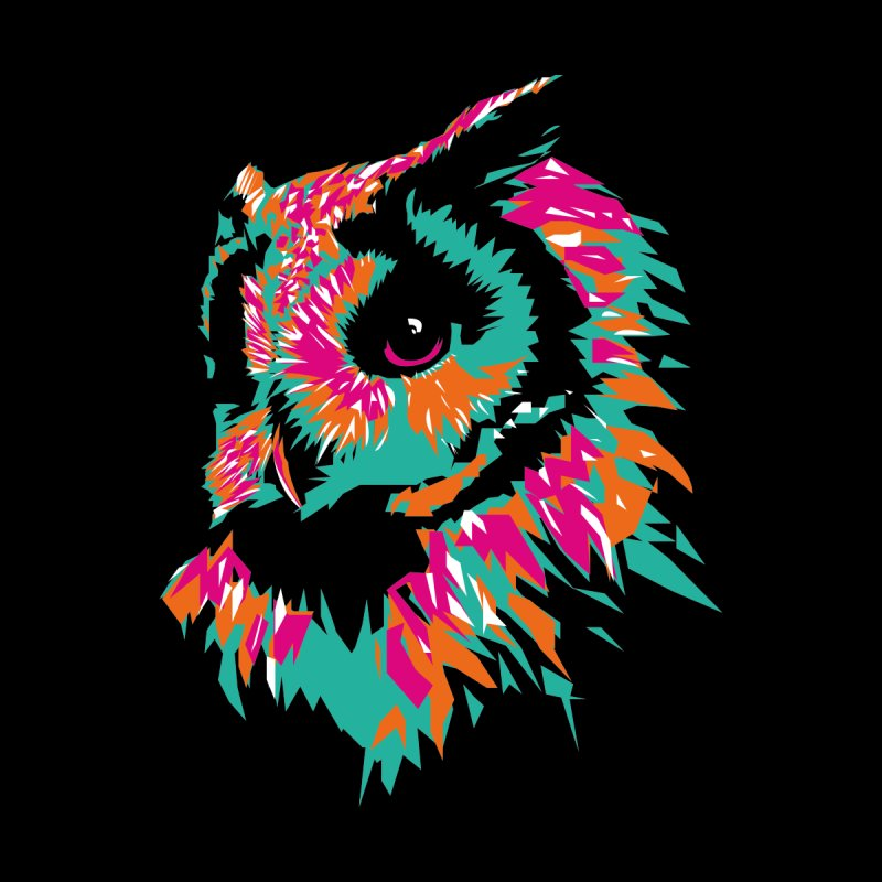 Zoological Appreciation Series: Owl Men's T-Shirt by Twelve45 Store