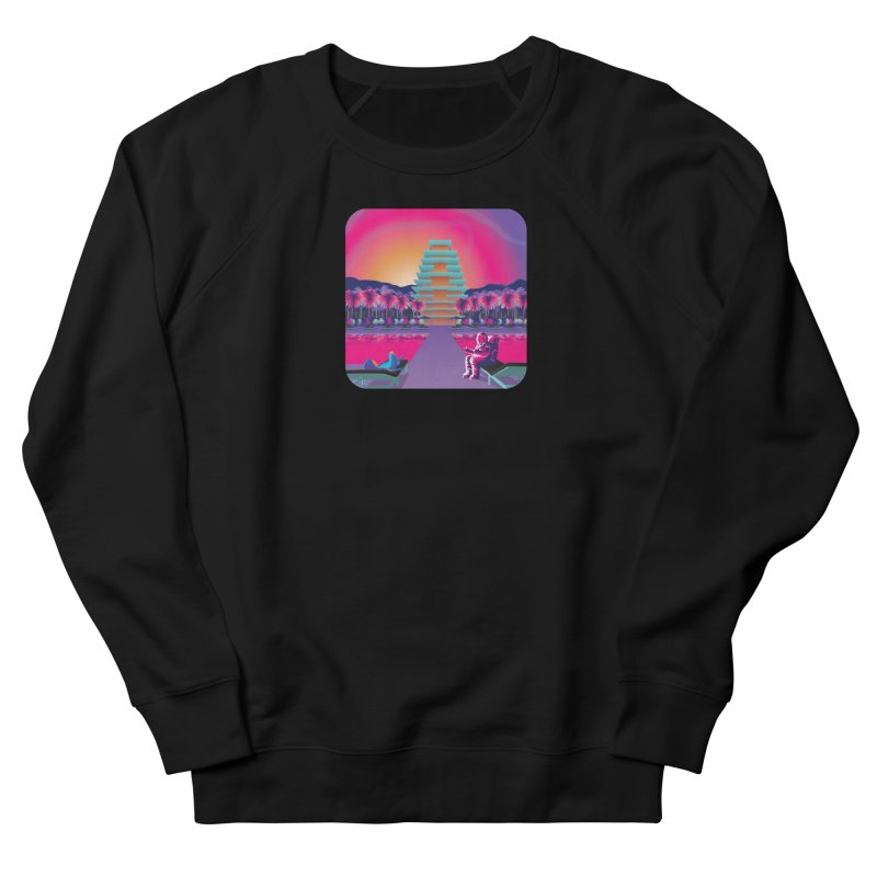 Space hotel Men's French Terry Sweatshirt by Twelve45 Store