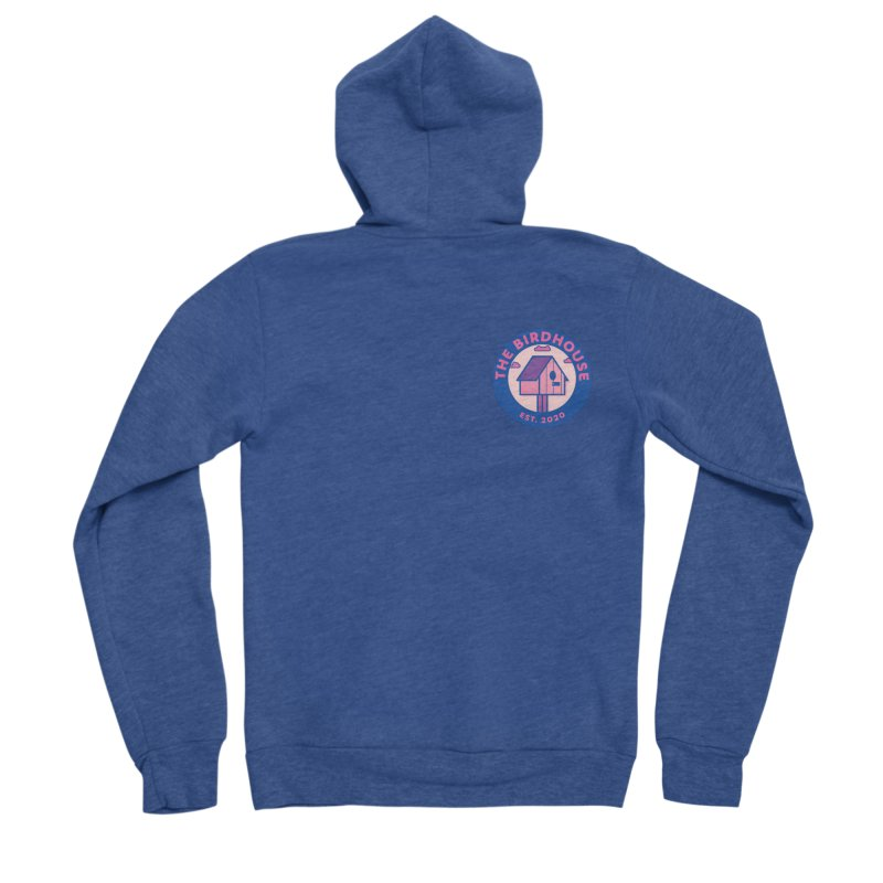 The Birdhouse Emblem Men's Zip-Up Hoody by Twelve45 Store