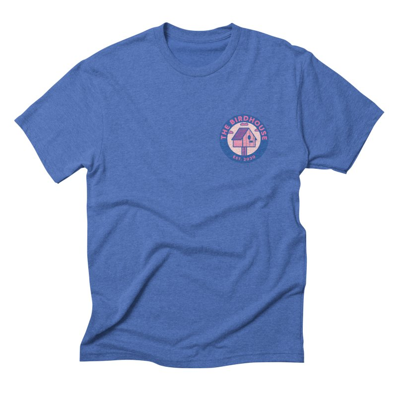 The Birdhouse Emblem Men's T-Shirt by Twelve45 Store