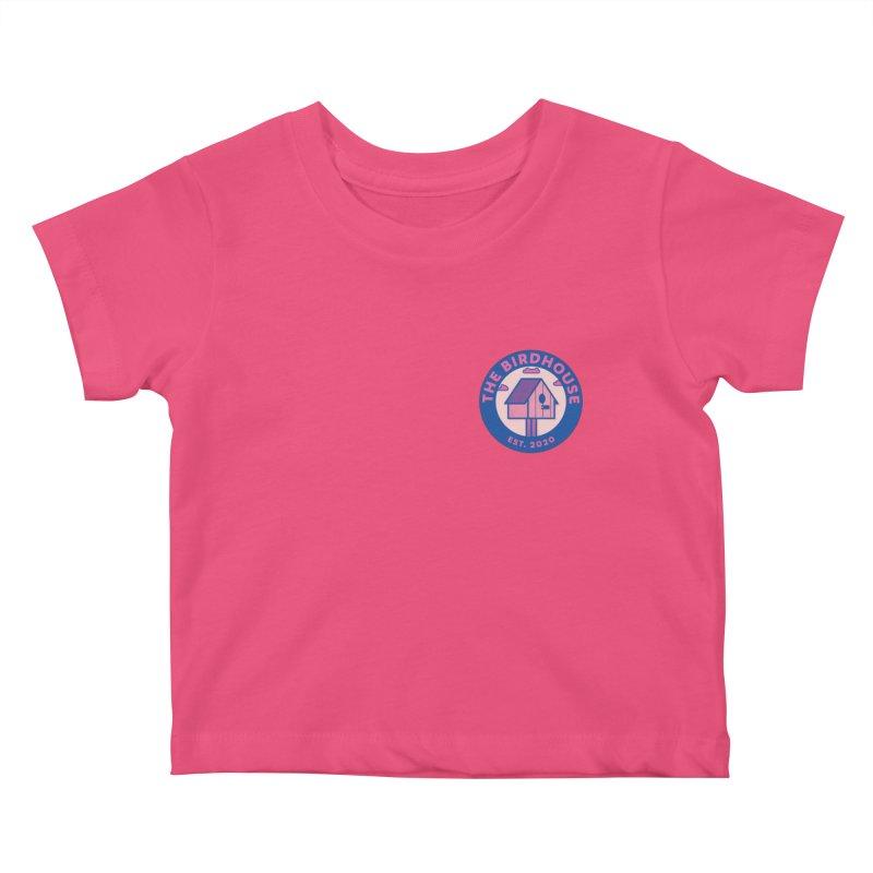 The Birdhouse Emblem Kids Baby T-Shirt by Twelve45 Store