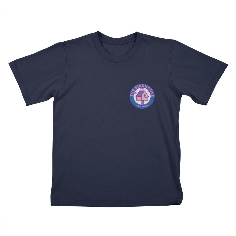 The Birdhouse Emblem Kids T-Shirt by Twelve45 Store