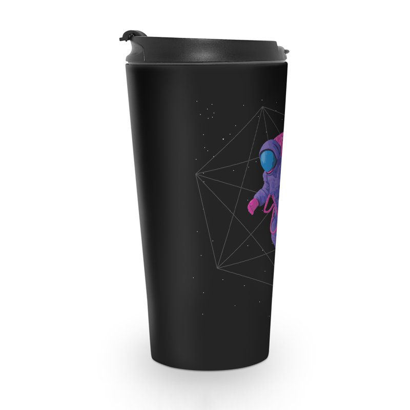 Space walking astronaut Accessories Travel Mug by Twelve45 Store