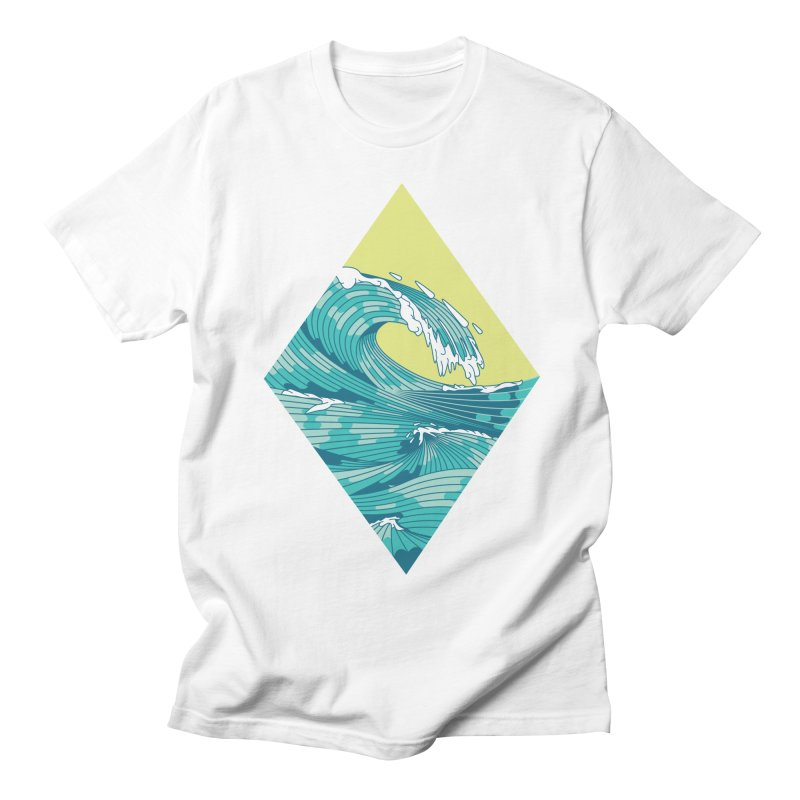 Wave Women's Regular Unisex T-Shirt by Twelve45 Store