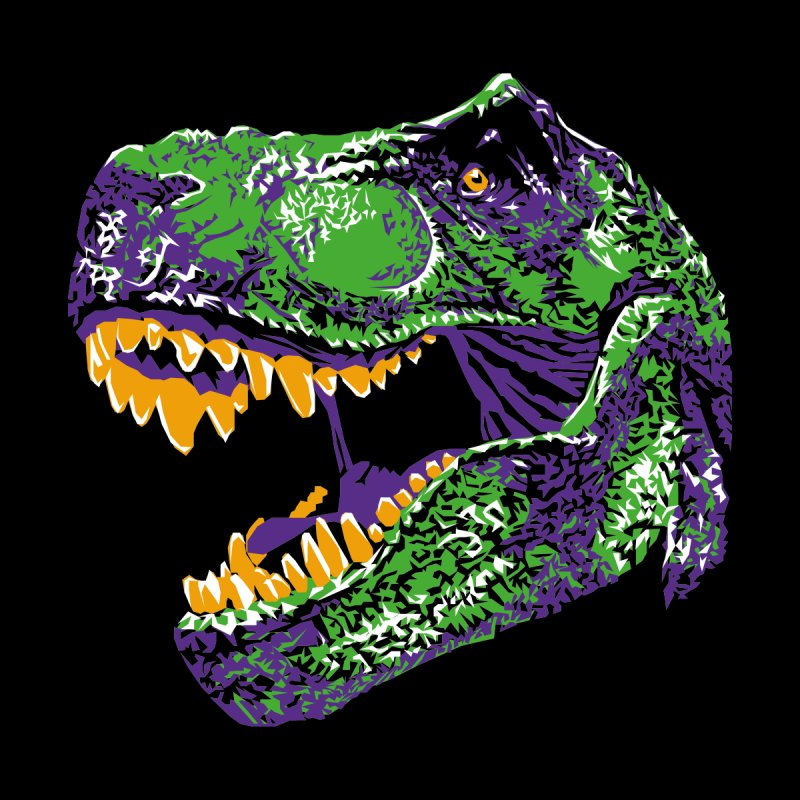 Tyrannosaurus Tex Men's V-Neck by Twelve45 Store