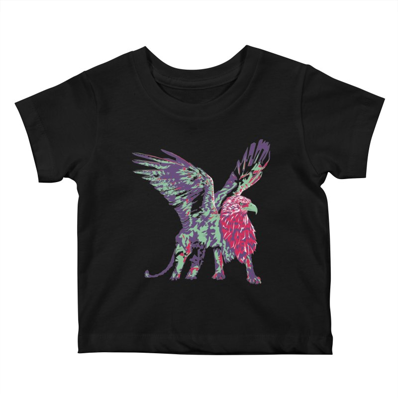 Griffin Kids Baby T-Shirt by Twelve45 Store