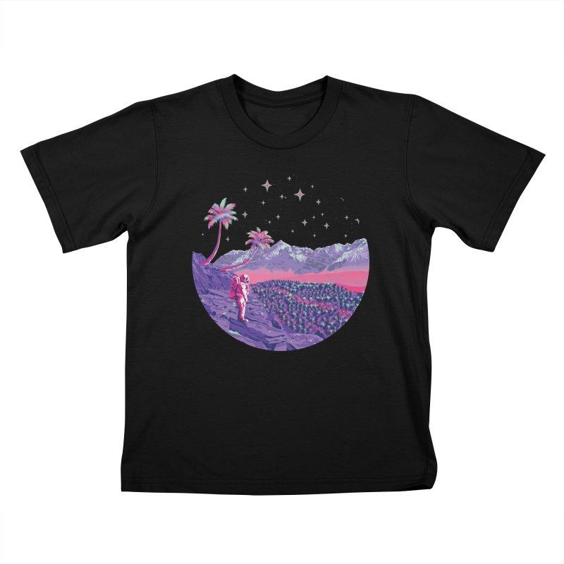 Alone: Astronaut Kids T-Shirt by Twelve45 Store