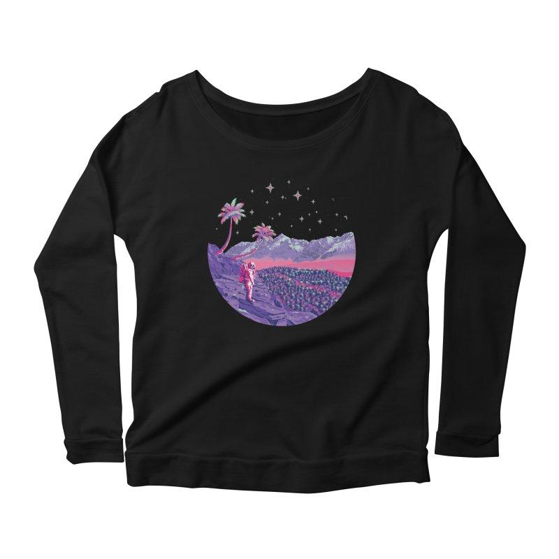 Alone: Astronaut Women's Scoop Neck Longsleeve T-Shirt by Twelve45 Store