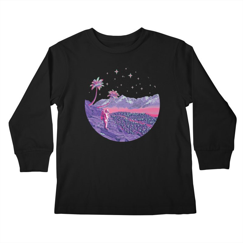 Alone: Astronaut Kids Longsleeve T-Shirt by Twelve45 Store