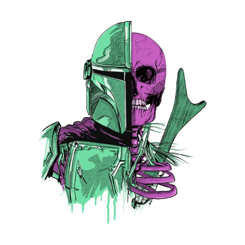 Mandalorian Men's T-Shirt by twentydeck's Artist Shop