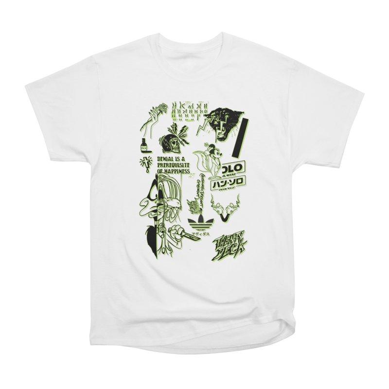 DENIAL IS A PREREQUISITE OF HAPPINESS Men's T-Shirt by twentydeck