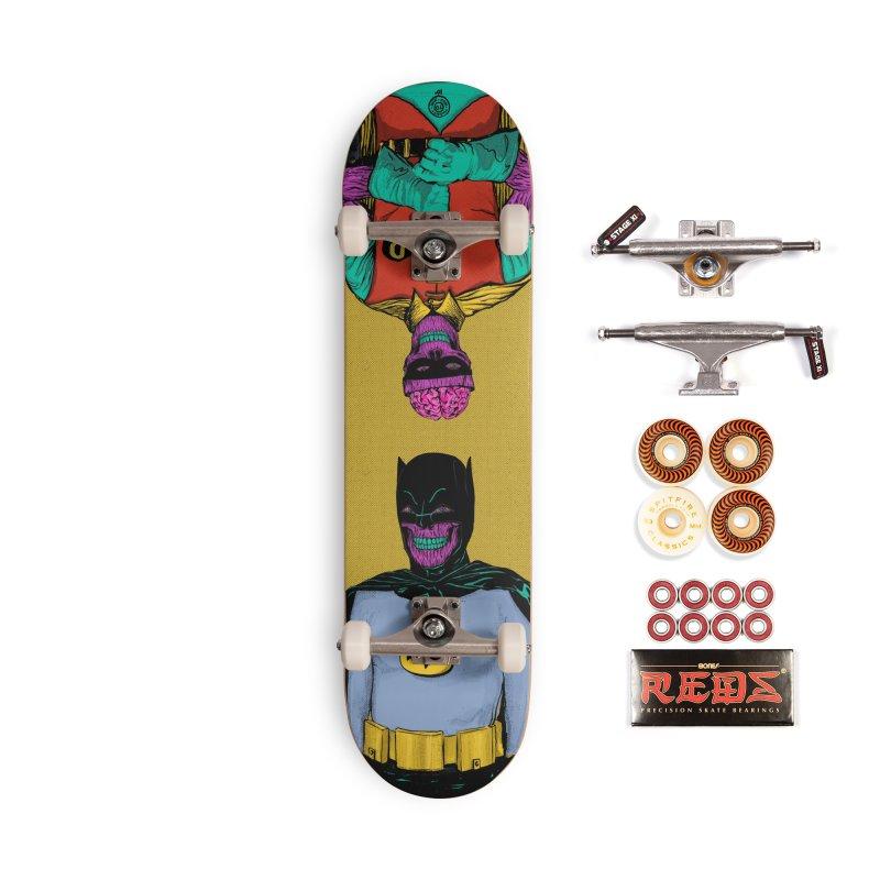 Batman SKATEBOARDS Skateboard by twentydeck