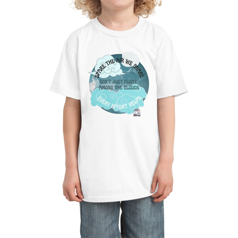 spare the air. Kids T-Shirt by Pause For A Cause