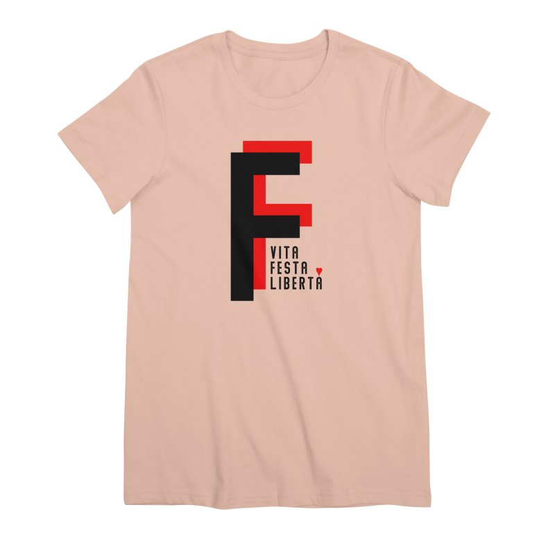 FIUME F T-SHIRT Women's Premium T-Shirt by TWGNG Official Store