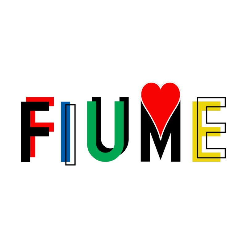 FIUME LOVE T-SHIRT by TWGNG Official Store