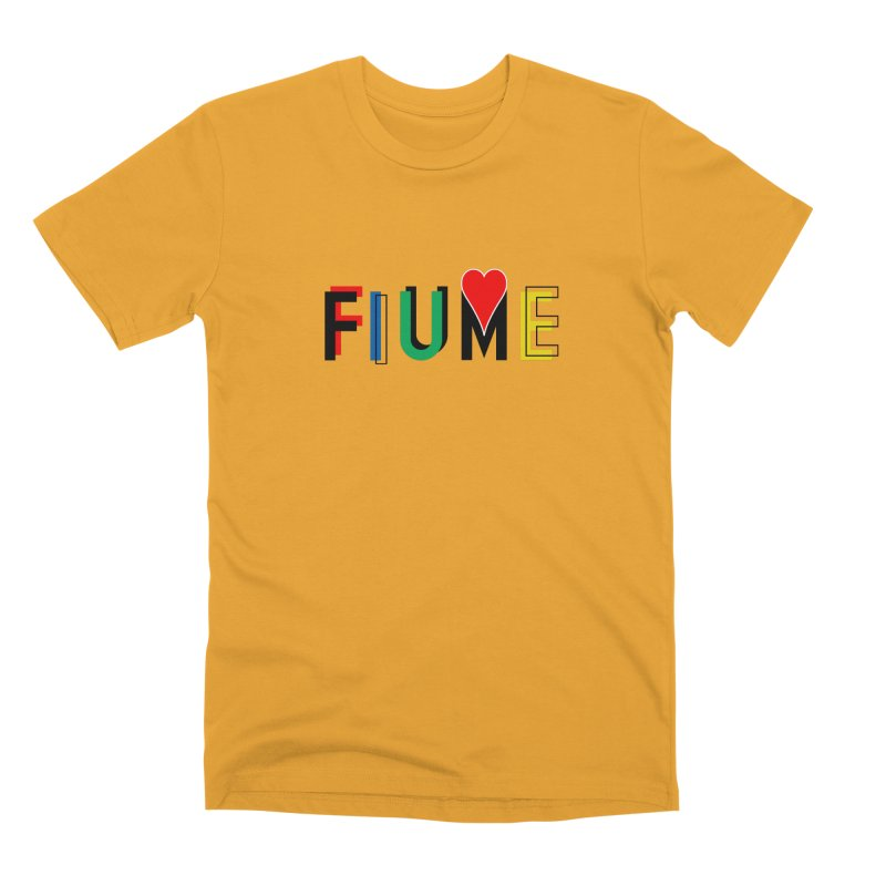 FIUME LOVE T-SHIRT Men's Premium T-Shirt by TWGNG Official Store