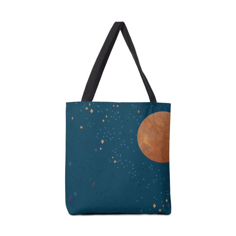 Moon and Stars Accessories Bag by Twinkle Press