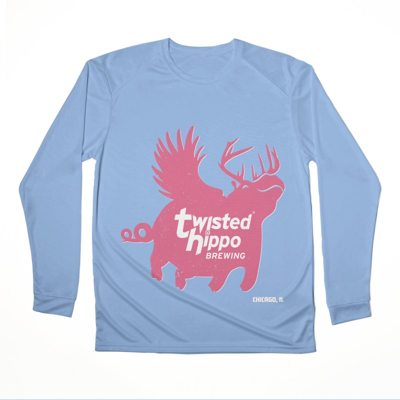 Twisted Hippo Brewing Women's Performance Unisex Longsleeve T-Shirt by Twisted Hippo Brewing