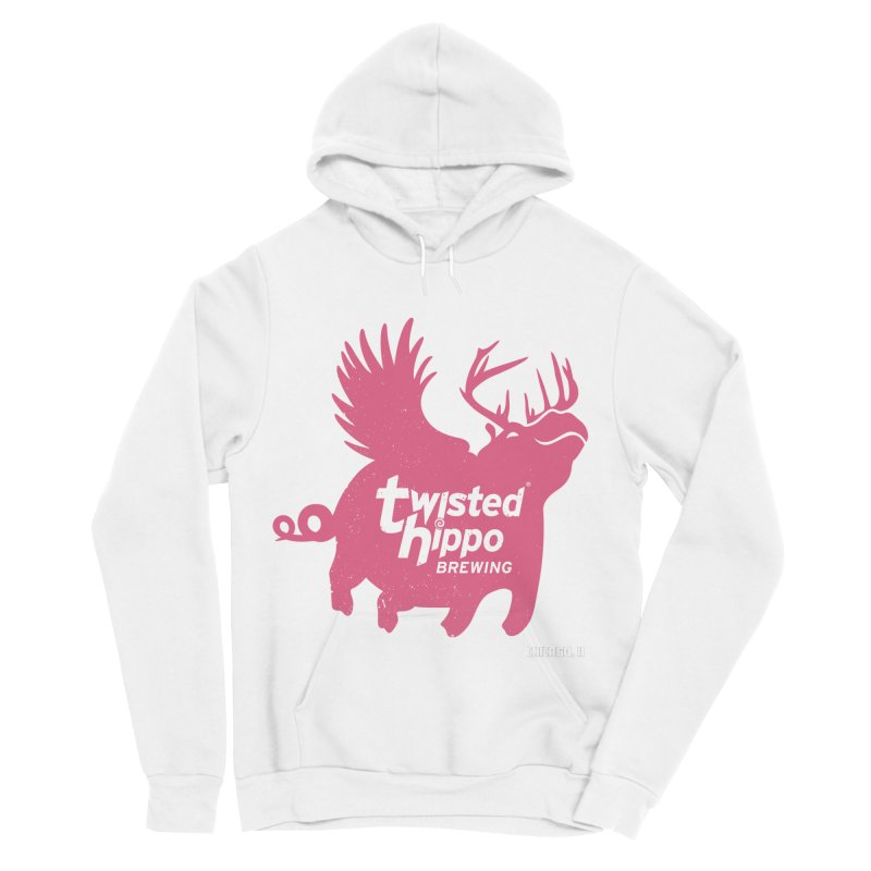 Twisted Hippo Brewing Women's Sponge Fleece Pullover Hoody by Twisted Hippo Brewing