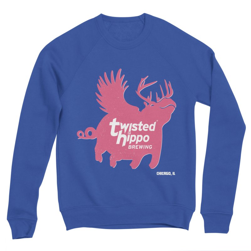 Twisted Hippo Brewing Men's Sweatshirt by Twisted Hippo Brewing