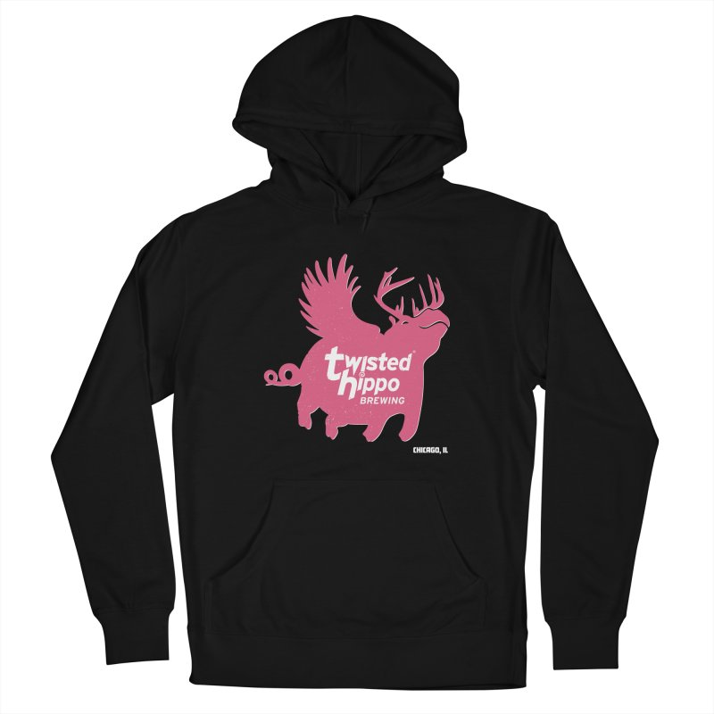 Twisted Hippo Brewing Women's French Terry Pullover Hoody by Twisted Hippo Brewing