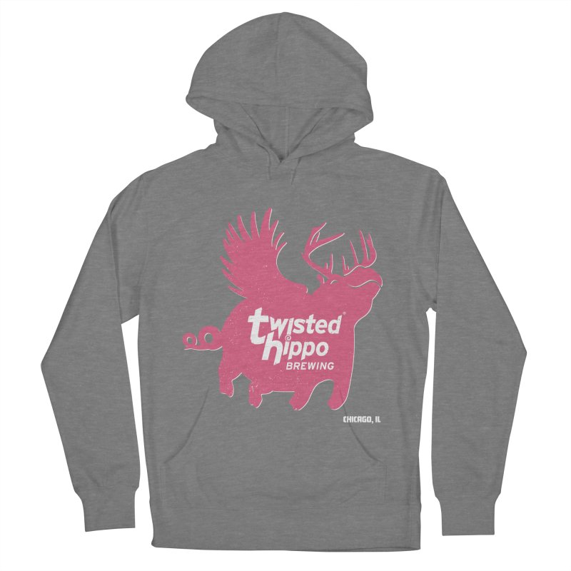 Twisted Hippo Brewing Men's French Terry Pullover Hoody by Twisted Hippo Brewing