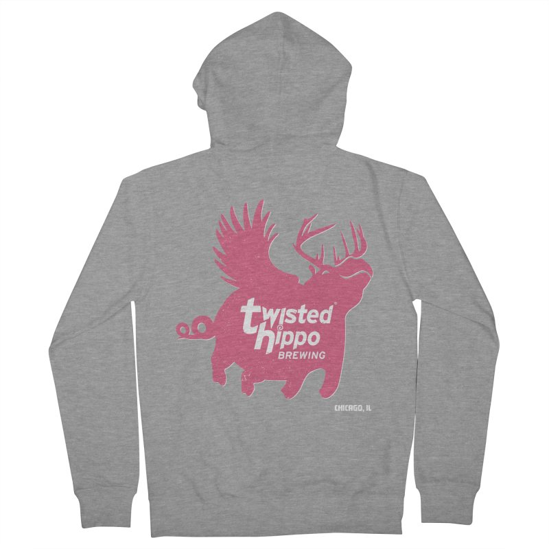 Twisted Hippo Brewing Women's French Terry Zip-Up Hoody by Twisted Hippo Brewing