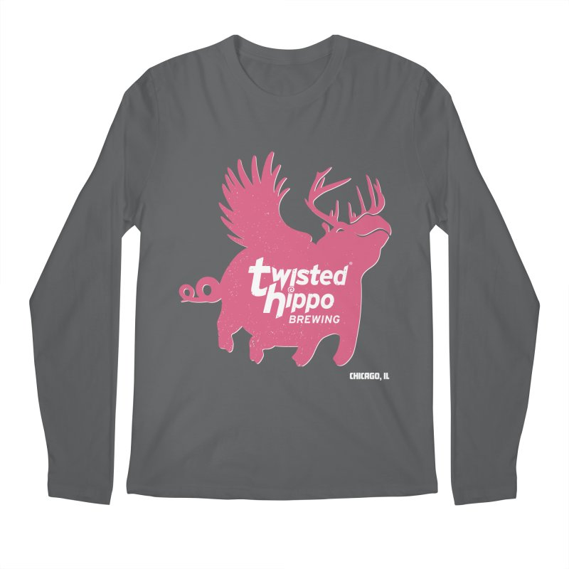 Twisted Hippo Brewing Men's Longsleeve T-Shirt by Twisted Hippo Brewing