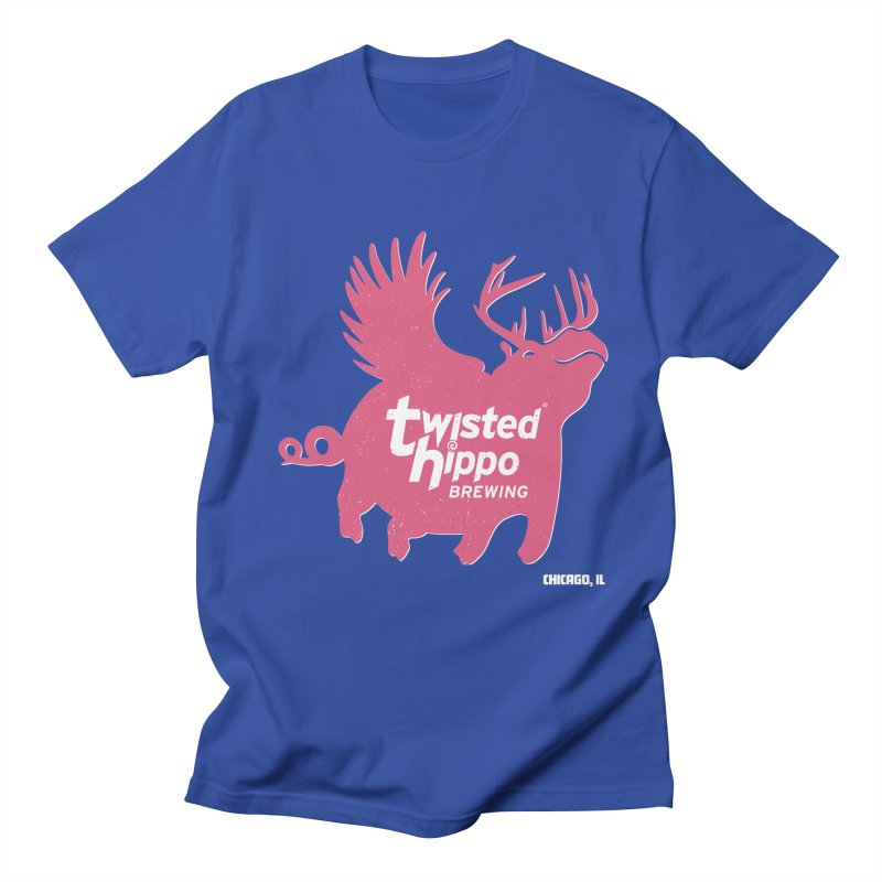 Twisted Hippo Brewing Men's T-Shirt by Twisted Hippo Brewing