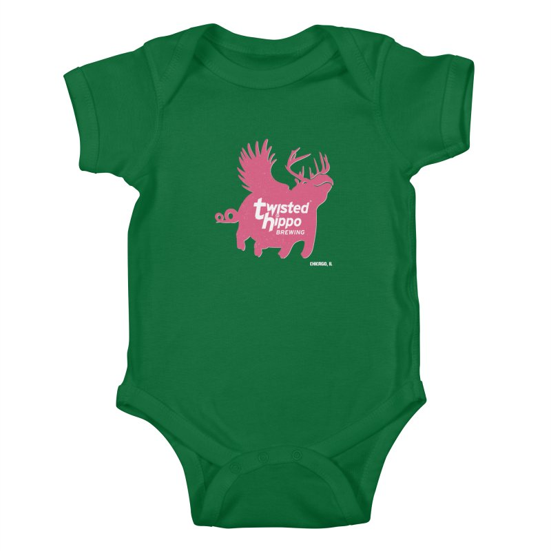 Twisted Hippo Brewing Kids Baby Bodysuit by Twisted Hippo Brewing