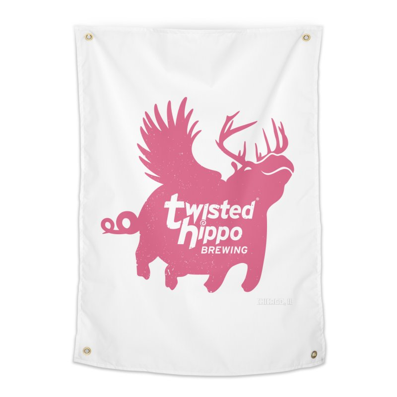 Twisted Hippo Brewing Home Tapestry by Twisted Hippo Brewing