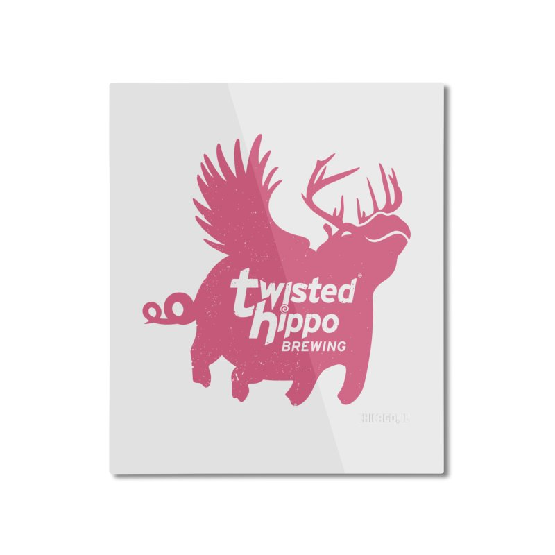 Twisted Hippo Brewing Home Mounted Aluminum Print by Twisted Hippo Brewing