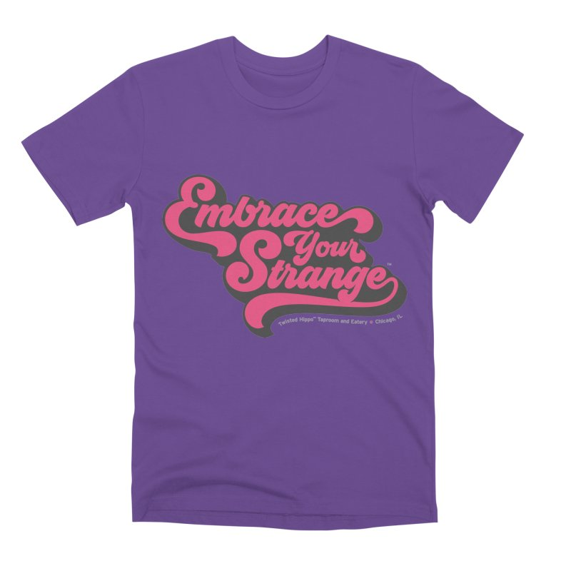Embrace Your Strange (vintage) Men's T-Shirt by Twisted Hippo Brewing