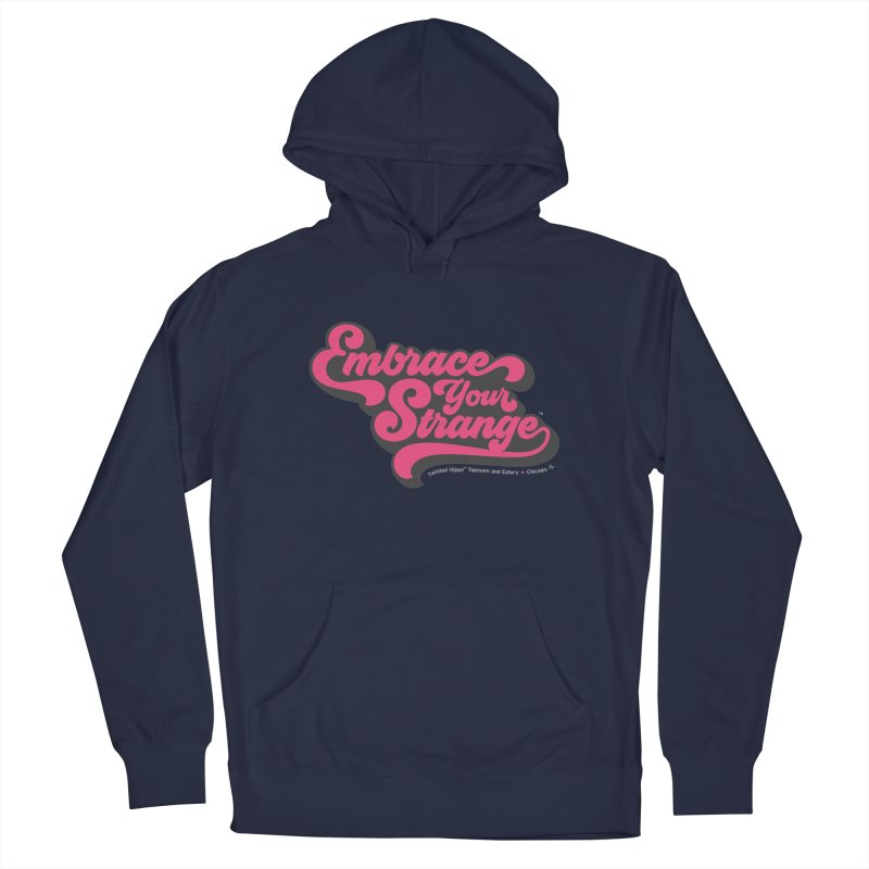 Embrace Your Strange (vintage) Men's Pullover Hoody by Twisted Hippo Brewing