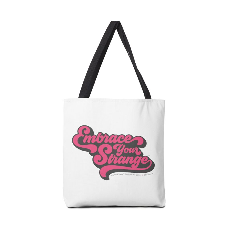Embrace Your Strange (vintage) Accessories Tote Bag Bag by Twisted Hippo Brewing