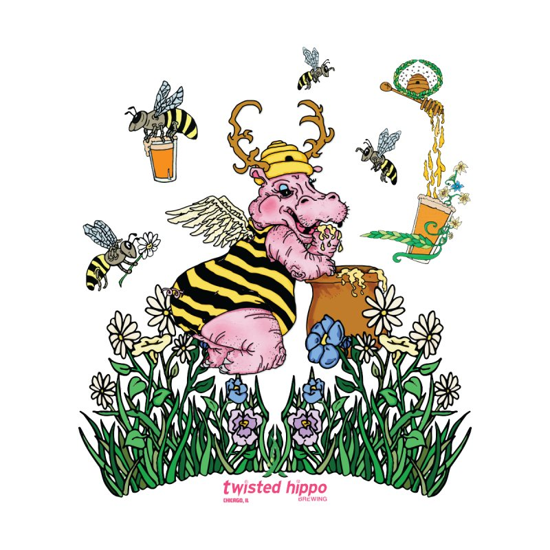 The Bee's Sleaze Kids Baby T-Shirt by Twisted Hippo Brewing