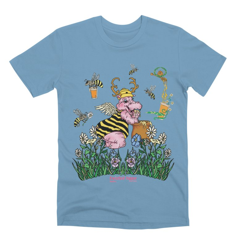 The Bee's Sleaze Men's T-Shirt by Twisted Hippo Brewing