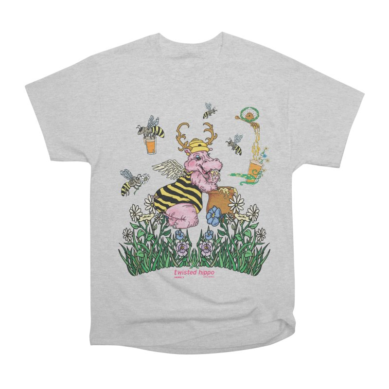 The Bee's Sleaze Men's Heavyweight T-Shirt by Twisted Hippo Brewing