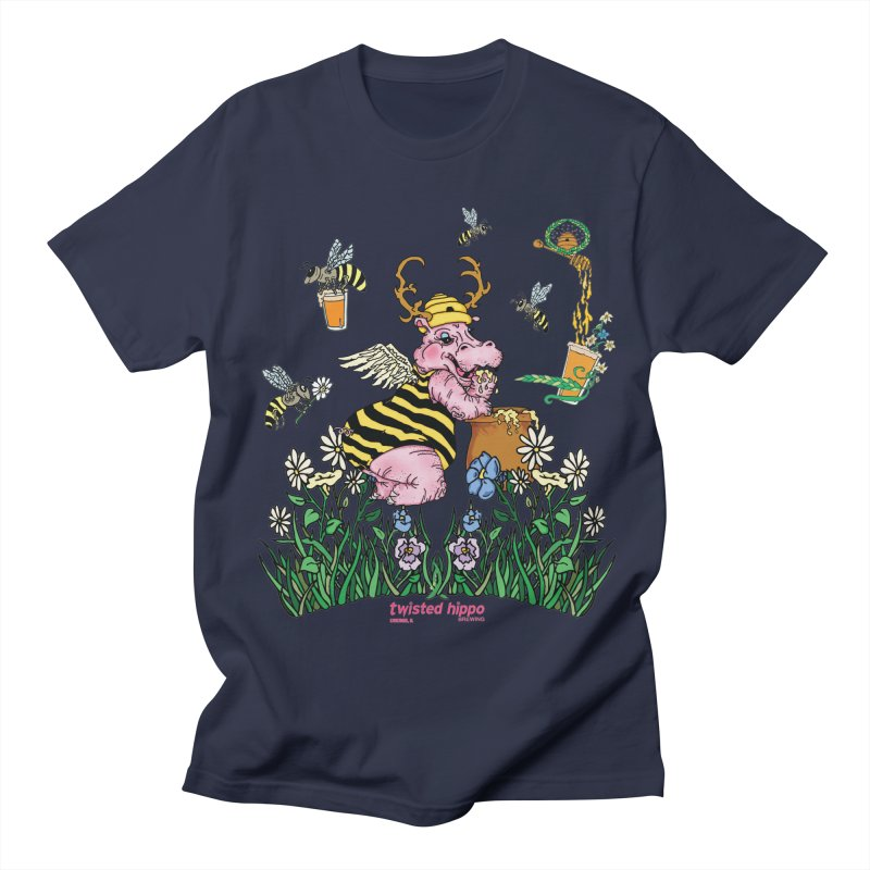 The Bee's Sleaze Men's Regular T-Shirt by Twisted Hippo Brewing