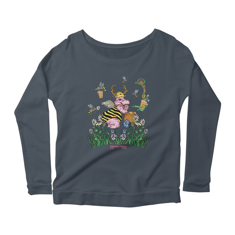 The Bee's Sleaze Women's Longsleeve T-Shirt by Twisted Hippo Brewing