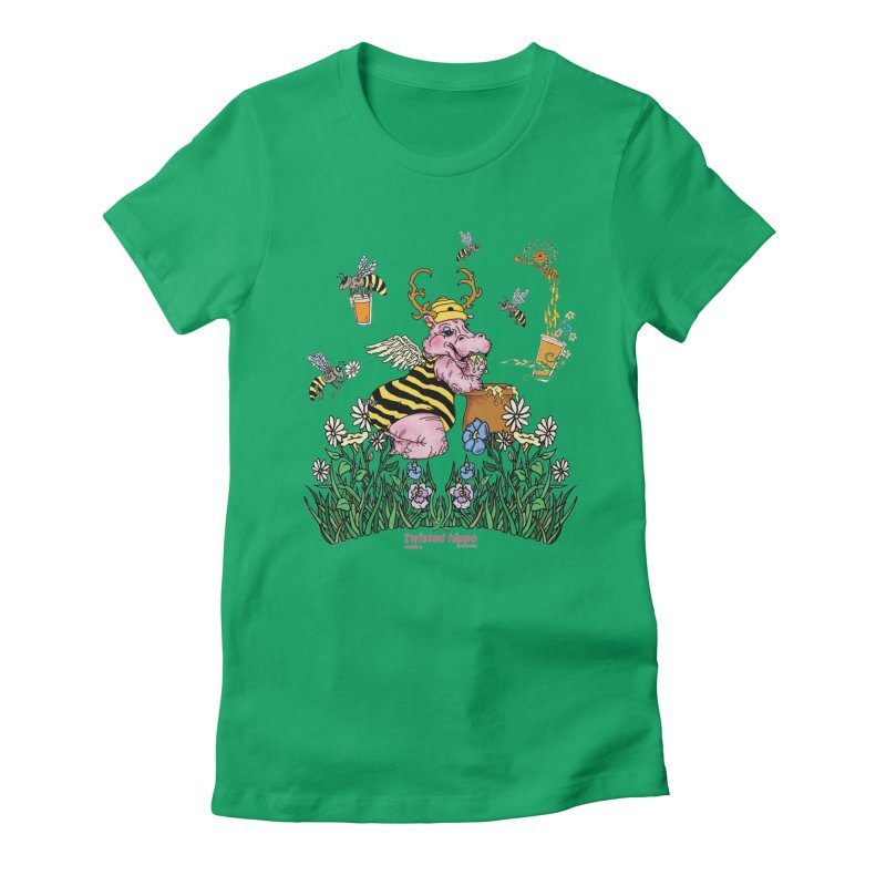 The Bee's Sleaze Women's T-Shirt by Twisted Hippo Brewing