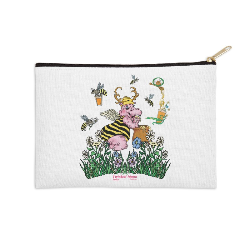 The Bee's Sleaze Accessories Zip Pouch by Twisted Hippo Brewing
