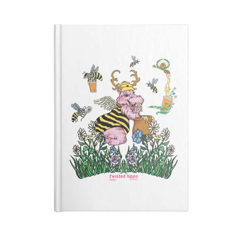 The Bee's Sleaze Accessories Lined Journal Notebook by Twisted Hippo Brewing