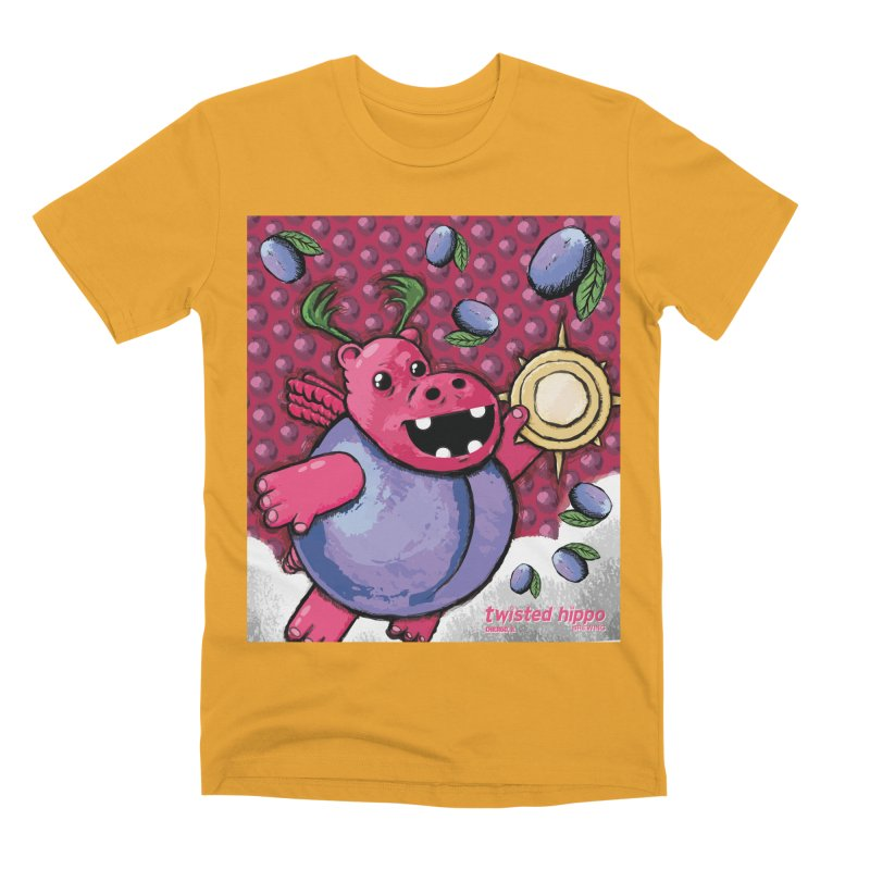 PLUMpass Men's T-Shirt by Twisted Hippo Brewing