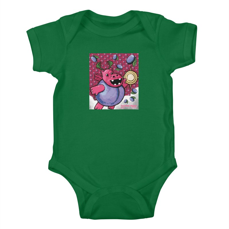 PLUMpass Kids Baby Bodysuit by Twisted Hippo Brewing
