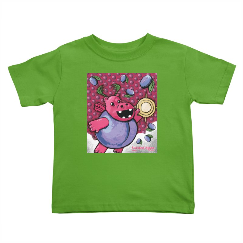 PLUMpass Kids Toddler T-Shirt by Twisted Hippo Brewing