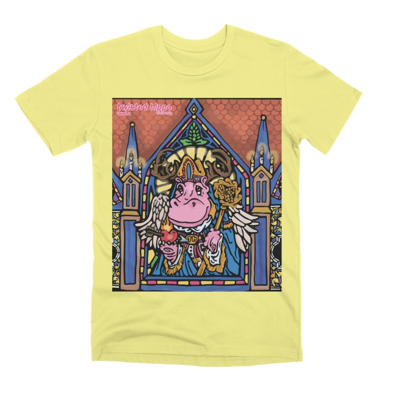 Ol' St. Auggie's Men's T-Shirt by Twisted Hippo Brewing