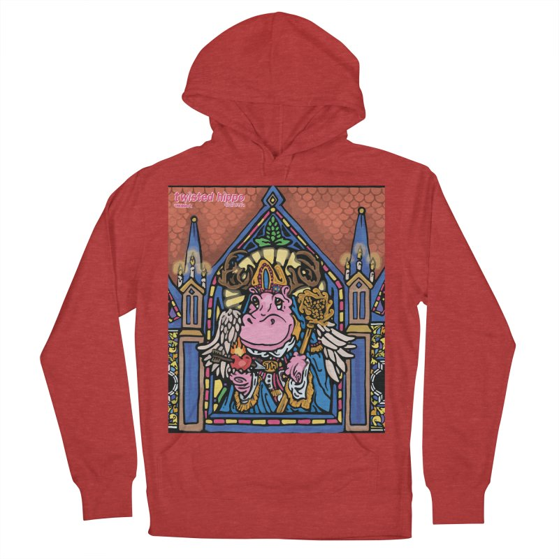 Ol' St. Auggie's Men's French Terry Pullover Hoody by Twisted Hippo Brewing