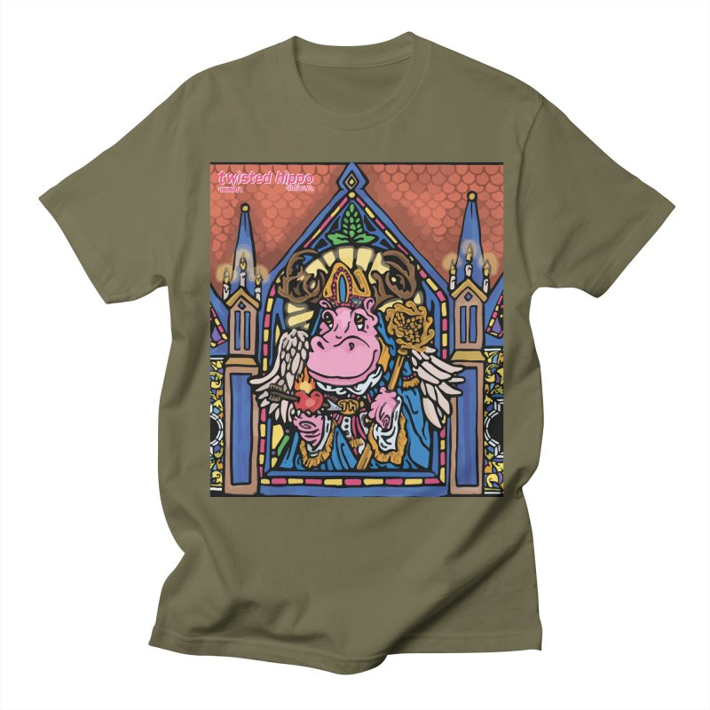 Ol' St. Auggie's Women's Regular Unisex T-Shirt by Twisted Hippo Brewing