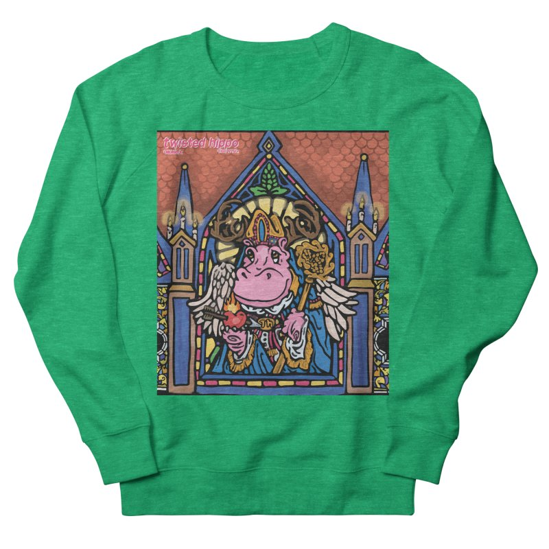Ol' St. Auggie's Men's French Terry Sweatshirt by Twisted Hippo Brewing